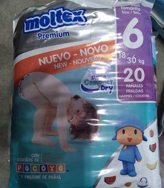 PAÑALES MOLTEX PREMIUM TALLA 6