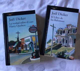 Libro novela suspense Joël Dicker