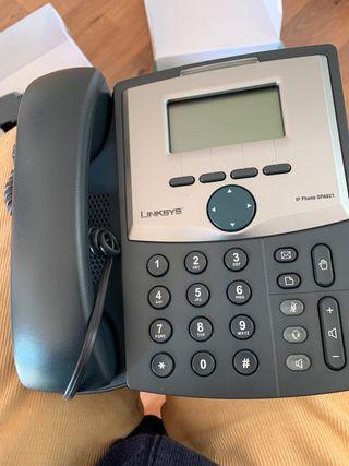 7 teléfono ip linksys