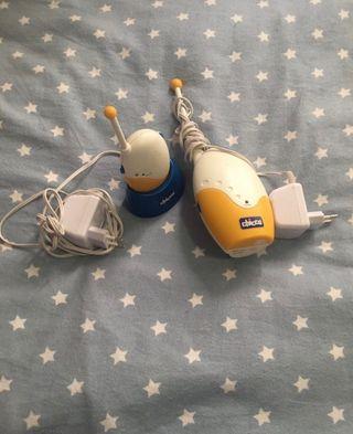 Monitor de vigilancia bebés (walkie-talkie)