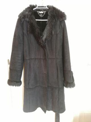abrigo largo mango