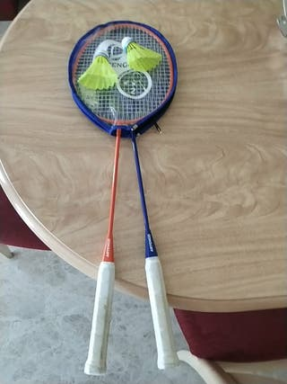 raquetas de bádminton decathlon