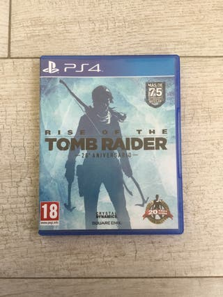 Rise of the Tomb Raider 20º aniversario (PS4)
