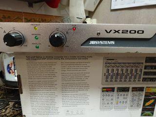 Amplificador JB-Systems VX 200