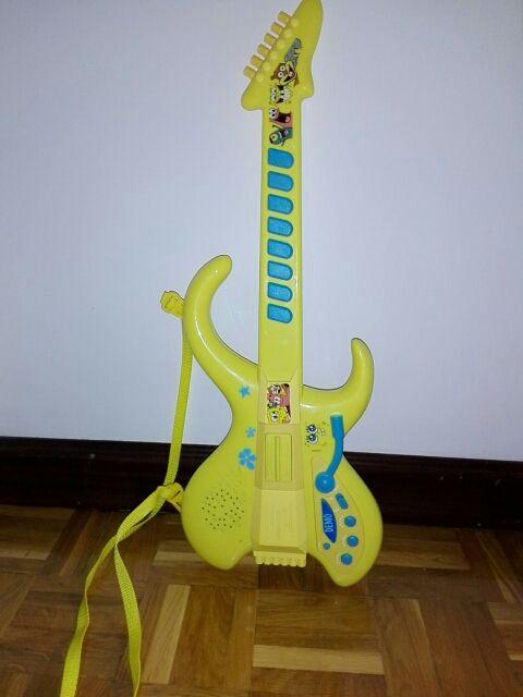 Guitarra niños Bob Esponja