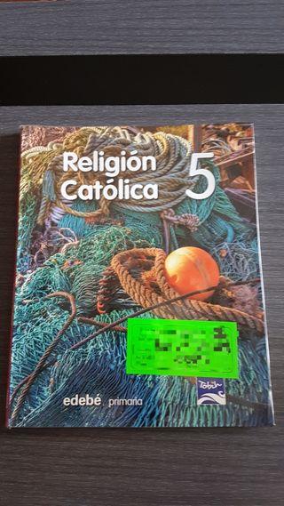 Libro religión 5° primaria