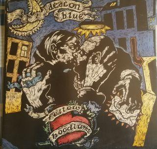 DISCO VINILO DEACON BLUE- FELLOW HOODLUMS