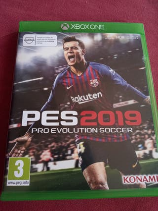 PES2019 Pro evolution soccer. Xbox one.