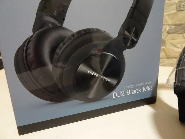9 Auriculares DJ2 Black Mic Energy Sistem