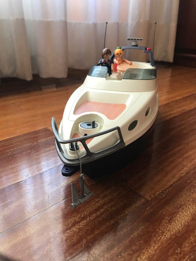 Yate de lujo de playmobil