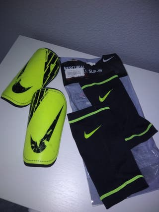 Espinilleras Nike Mercurial Talla XS