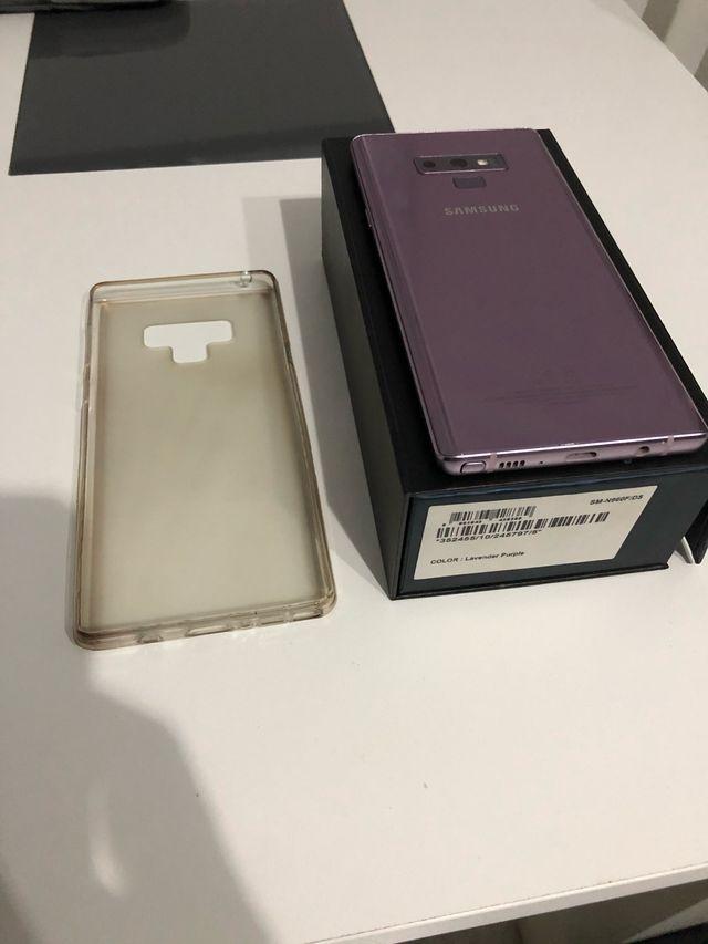 Samsung Note 9 128Gb en garantia