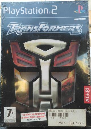 Transformers ps2 precintado