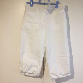Pantalón blanco Tejido equarea Domyos