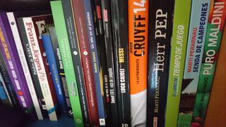 docenas de libros sobre deporte, fútbol nba radio