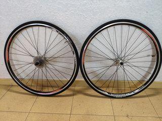 vendo ruedas Orbea completas en perfecto estado