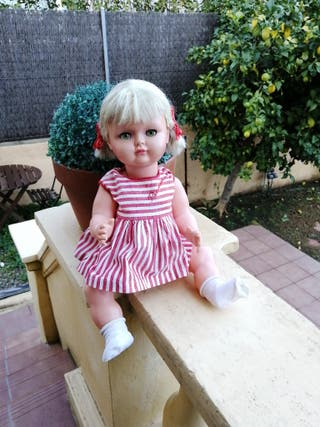 muñeca Pelusina de Florido de origen