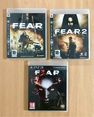 Trilogía Fear - Ps3
