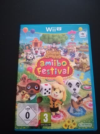 Animal Crossing Amiibo Festival (Videojuego Wii U)