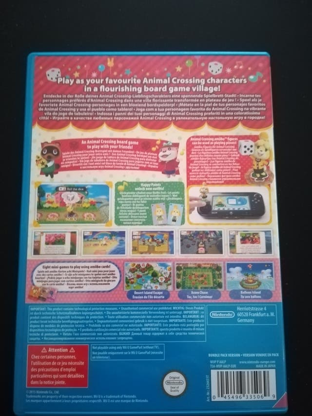 Animal Crossing Amiibo Festival (Videojuego Wii U)