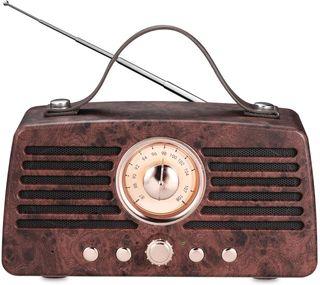 Altavoz Bluetooth Radio Retro Vintage