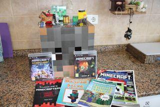 Pack accesorios Minecraft + 2 juegos Minecraft PS3