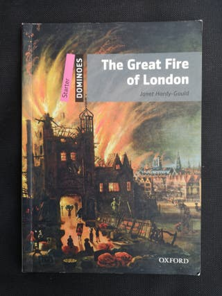The great fire of London Libro en ingles
