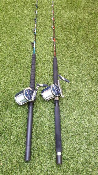 cañas de pescar de currican mitchell