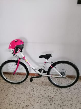 bicicleta de niña de 21 pulgadas en buen estado