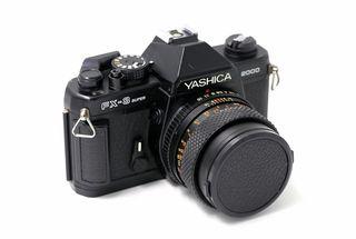 Cámara de fotos analógica Yashica Fx-3 Super 2000