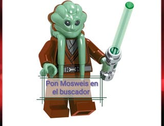 Star Wars Kit Fisto PRECINTADA