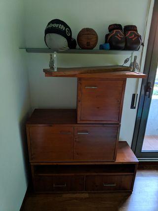 mueble artesanal de comedor muy resistente
