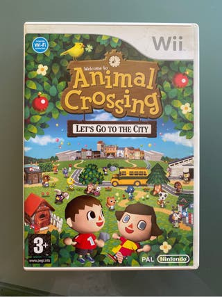 Animal crossing. Juego wii