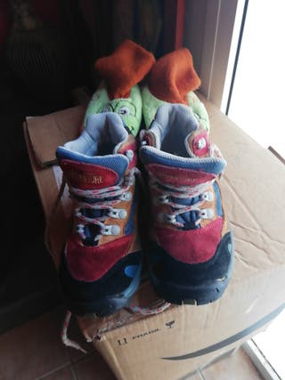 botas de trekking niño