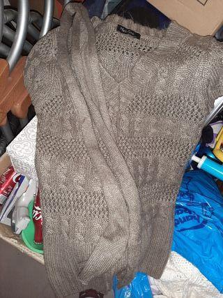jersey sin manga punto ropa