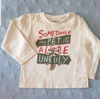 Camiseta niño talla 24 meses