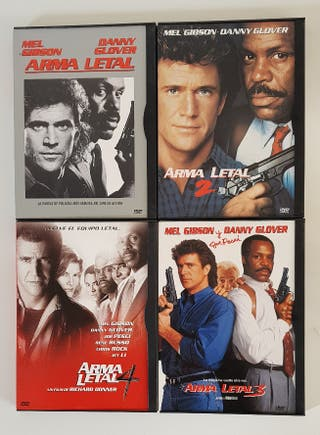 DVD ARMA LETAL