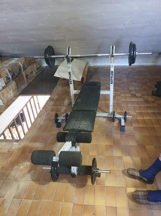 Conjunto de pesas completo