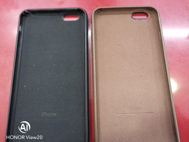 Funda de piel iPhone 6 plus/6s plus original.