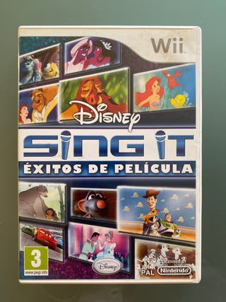 Sing it. Juego wii