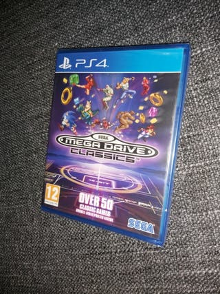 Juego PS4 MEGA DRIVE CLASSICS Sega Nuevo!!