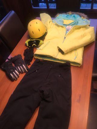 Conjunto esquí o ski para chica 12-15 años