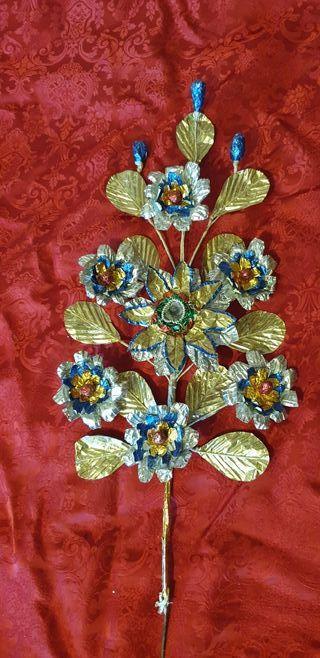 Flores de talco antiguas