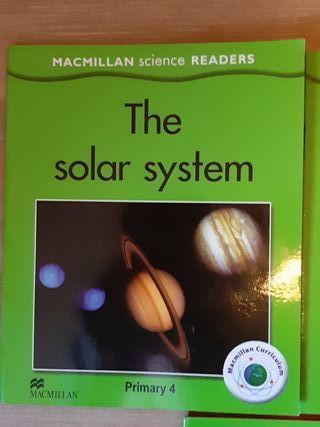 3 libros MacMillan science Readers