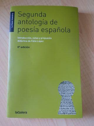 Sgunda Antología de Poesía Española