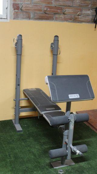 Domyos BM-210 banco de pesas multifuncional