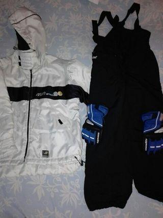Conjunto ropa nieve T.10