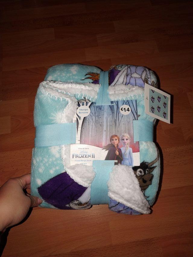 manta Frozen nuevo! 120x150 cm