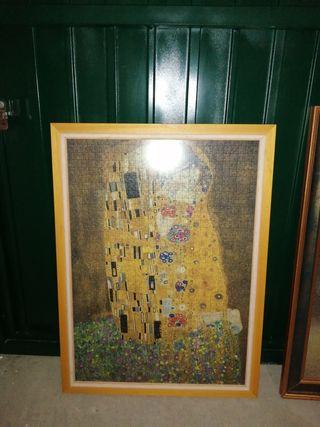 Cuadro de puzzle El beso de Klimt