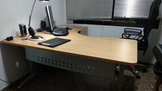 Mesa Despacho Oficina con Ala y Cajonera